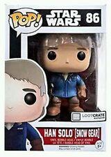 Star Wars Funko Pop Vinyl Loot Crate Exclusive Han Solo Snow Gear FREE SHIPPING