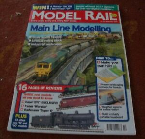 MODEL RAIL MAGAZINE     No 122   September 2008.