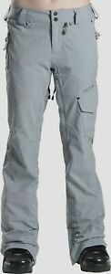 VOLCOM SNOW Women's PLATEAU Pants - Size Large - GRY - NWT LAST ONE LEFT