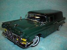 1/18 SCALE DICAST 1957 FORD COURIER SEDAN DELIVERY IN GREENBLACK BY YAT-MING.