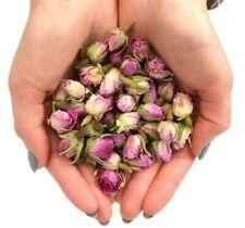 Séché Rose Bourgeons, Rose-Rose Infusion De Thé Gâteau Décoration Cuisson Gin co...