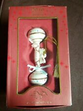 Lenox China Ornament 2010 Baby's 1st Christmas Rattle American by Design (ol2)