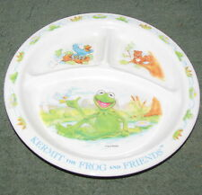 Muppets Kermit The Frog Eden Divided Plate