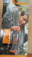 "GERBER BEAR GRYLLS SURVIVAL 8-1/2"" FOLDING SHEATH KNIFE LOCKBACK 5""  31-000752"