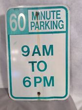TRAFIC PARKING SIGN MANCAVE