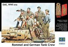 Master Box — Rommel and German Tank Crew  — Plastic model kit 1:35 Scale #3561
