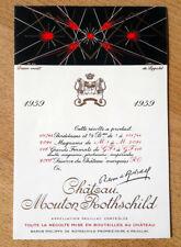 Étiquette - Mouton Rothschild 1959 - 75 cl.