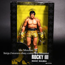 "NECA Rocky Golden Pants - 40th Anniversary 7"" Action Figure 2016 Collection New"