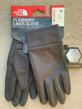 The North Face mens FlashDry Liner Gloves size M L XL