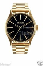 Nixon Original Sentry SS A356-510 All Gold / Black Tone 42mm Watch