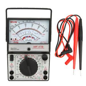 MF47B Multifunctional Digital Screen Multimeter AC DC Voltage Current Detector