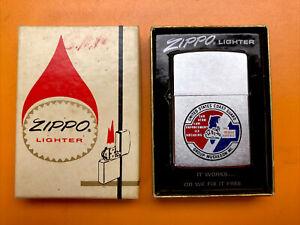 Zippo Lighter 1982 Coast Guard Muskegon MI