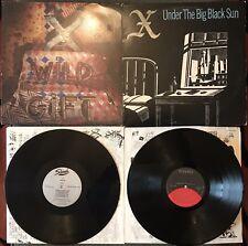 X Lot Of 2 Vinyl LP WILD GIFT + UNDER THE BIG BLACK SUN punk Excene