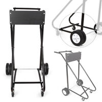 Outboard Motor Carrier Boat 130lb Cart Dolly Stand 1 Inch Steel Tube Frame Black