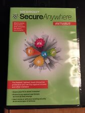 Webroot Secureanywhere Antivirus 2011 New