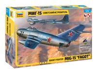 """ZVEZDA: MIG-15 """"Fagot"""" Soviet Fighter in 1:72"""