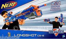 NERF N-STRIKE ELITE LONGSHOT CS-6 Hasbro Action Waffen Kinder Spiel NEUWARE