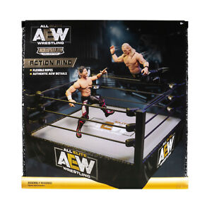 ALL ELITE WRESTLING AEW UNRIVALED ACTION RING PLAYSET