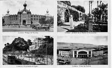 Portugal Lisboa, Praca de Touros Jardim S. Pedro Alameda Caes Sodre Train Cars