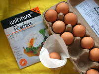 New WILTSHIRE Non-stick Poachies Egg Poacher 20 Bags, Made in UK! RRP $9.95!
