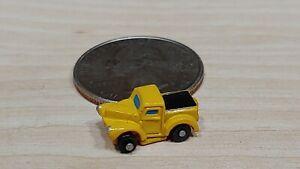 Vintage Micro Machines Galoob INSIDERS Truck Mini '33 Willys Pickup Yellow