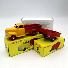 Atlas Set Dinky Toys 25S 25P Remorque 2 Roues Studebaker Camionnette Metal Model