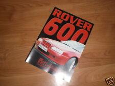 MOTO-BUILD RACING PARTS & TUNING CATALOGUE ROVER 600