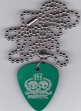 GREEN DAY 21st CENTURY ACT III GUITAR PICK  PENDANT NECKLACE CUSTOM ENGRAVED