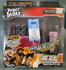 NEW Wowwee Paper Jamz Pro Mic Series - Style 2 Pink Karaoke Add Your Own Songs