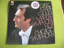 LP MAHLER symph n °1 GIULINI CHICAGO SYMPHONY ASD 2722