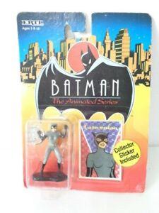 Batman Animated Series Catwoman 6cm diecast figure by Ertl 1993 - Mint on Card