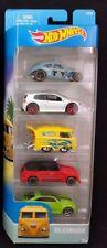 Hot Wheels Volkswagen 5 Pack- Kool Kombi Type 181 Beetle VW - No Rack Version