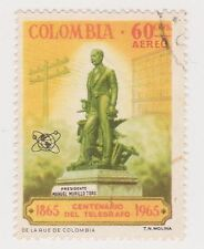 (COA-244) 1965 Colombia 60c air telegraph (V)