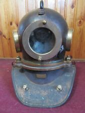 Original russian Soviet 3-bolt Diving Helmet. Not used, exclusive! Bonus 3 glass