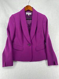 Kasper 4P Blazer Purple Jacket Lined (S1883-A1)