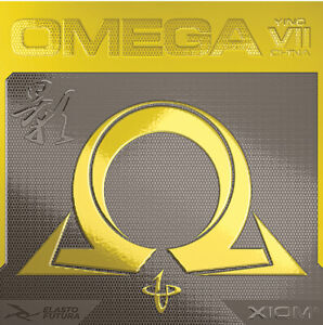 XIOM Omega VII (7) China Ying Rubber Table Tennis Ping Pong HOT!