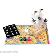 Bateau Pirate dans une boîte Construction et Peinture Modèle Pour enfants Garçon