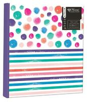 "Spots & Stripes Photo Album 200 4x6"" 104 5x7"" 80 4x6"" Photos or Self Adhesive"