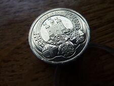 £ 1 libras Edimburgo capitales A/UNC/ligeramente CIRC brillante brillante moneda (ref8)