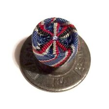 """WWII AMERICAN CAMPAIGN MEDAL ROSETTE """"MADE IN FRANCE"""" USN USMC ARMY USCG USAF"""