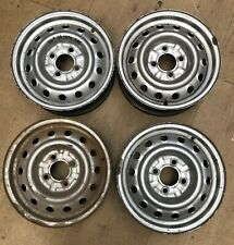 Alfa Romeo 105 Series 2000 Spider / Bertone GTV steel wheels - set 4