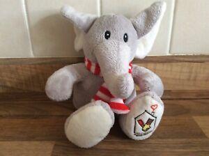 Ronald Mcdonald House Charities Soft Plush Grey Elephant Toy Comforter