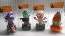 New Sealed Set of 4 Solar Powered Dancing Halloween Decoration/Toys