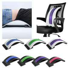 Back Massager Stretcher Lumbar Support Pain Relief Stretching Posture Corrector