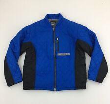 Spyder Blue & Black Ski /Snowboard Jacket Mens Size L