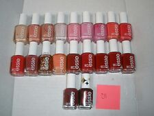 New Lot of 20 Assorted Essie Nail Polish Pink+Red NO REPEATS Wholesale Lot C11