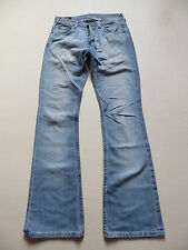 LEE Denver Schlag Jeans Hose, W 29 /L 34, TOP ! Flare Leg, Faded Wash Denim ! 42