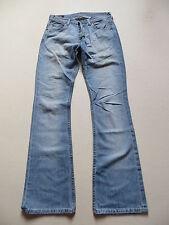 LEE Denver Schlag Jeans Hose, W 29 /L 34, TOP ! Flare Leg, Faded Wash Denim ! 42