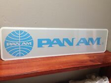 "PAN AM Collectible, Memorabilia Metal sign 6"" x 24"""
