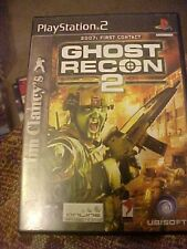 PS2 Tom Clancy's Ghost Recon 2: First Contact 2007 (Sony PlayStation 2, 2004)